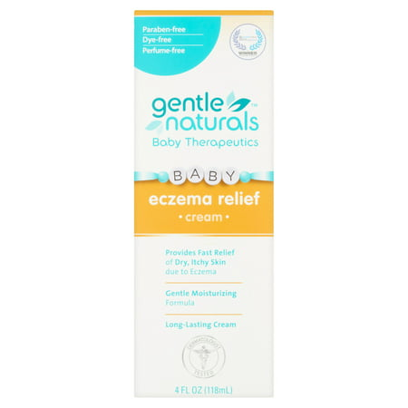 Gentle Naturals Baby Therapeutics Eczema Relief Long Lasting Cream, 4 fl oz