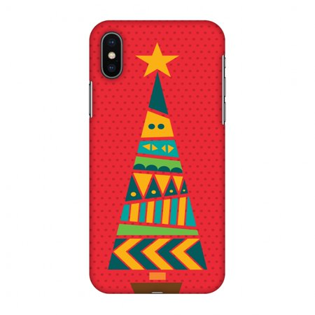 Christmas Iphone X Case.Iphone X Case Christmas Cheer 2 Hard Plastic Back Cover Slim Profile Cute Printed Designer Snap On Case With Screen Cleaning Kit