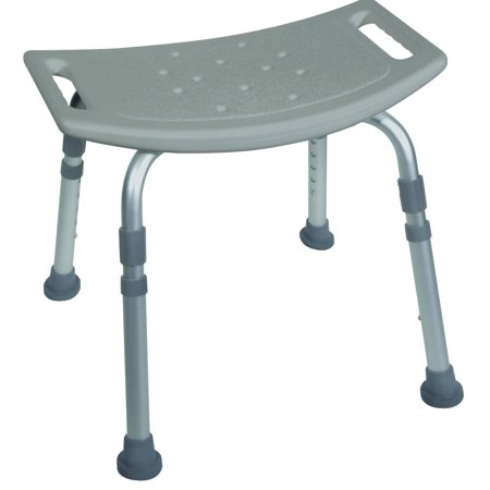 Bath Bench Without Back  Grey  Bench Heavy Seat Aluminum Chair Spa Backrest Premium Plastic Bath Without With Designer Trigger Bariatric And Duty Piece    By Drive Medical