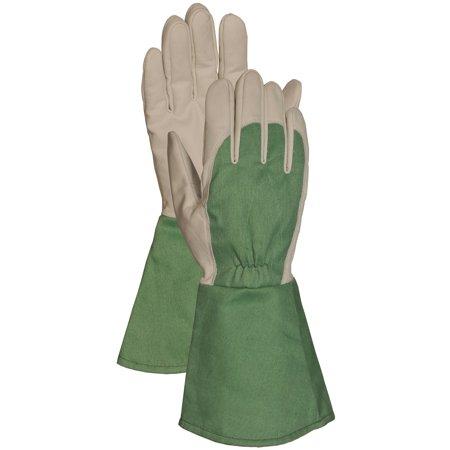 Bellingham Glove C7352L Large Green Thorn Resistant Gauntlet Gloves (Gaunlet Gloves)