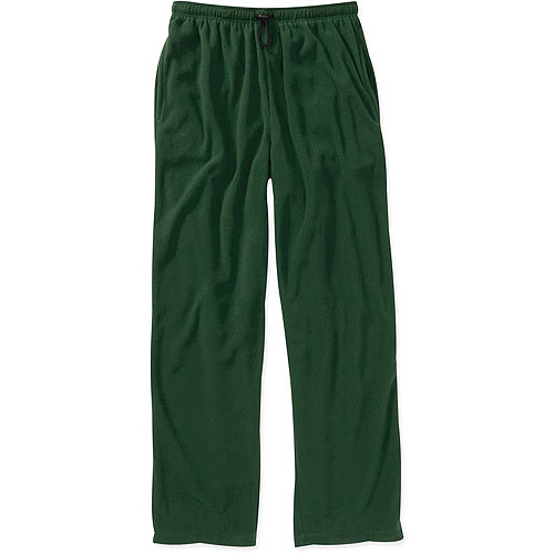 Big Men's Lounge Micro Fleece Solid Pants