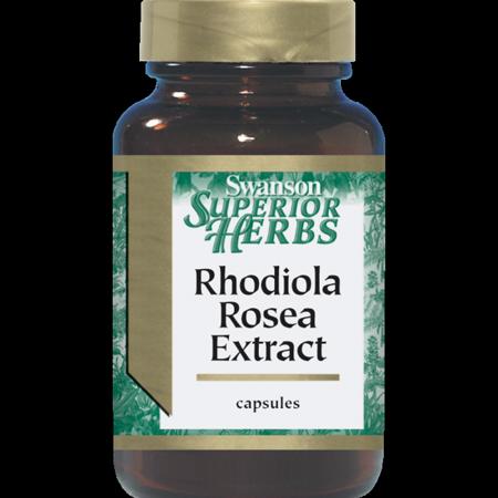 Swanson Rhodiola Rosea Extract 60 Caps