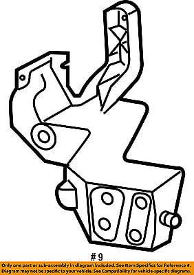 Jeep Chrysler Oem Grand Cherokee Radiator Core Support Bracket Right