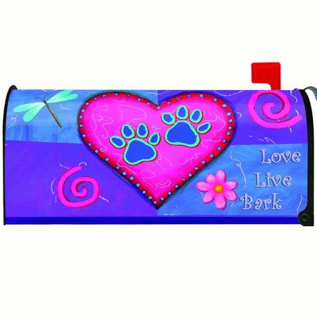 Toland Love Live Bark Mailbox Cover  310018