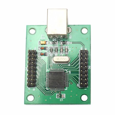 Arcade Game Controller USB Interface PCB For 2 Player PC ... on