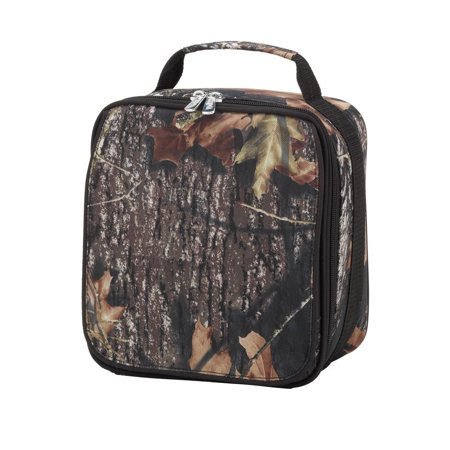 Custom Personalized Insulated Water Resistant Lunch Bag (Woods), Easy to clean insulated lining By Wholesale Boutique for $<!---->