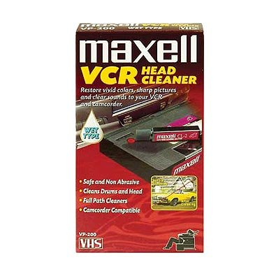 Maxell MXLVP200M Maxell 290038 VP-200 Wet VHS Video Head Cleaner