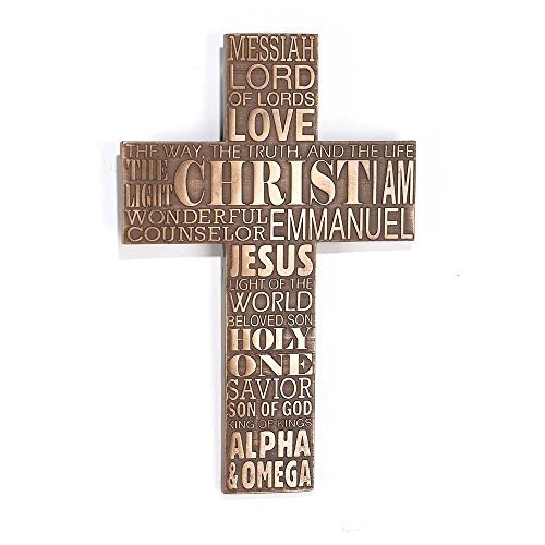 "Wall Cross 11"" - Names of Jesus"