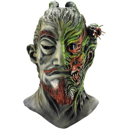 It's Behind You Deluxe Latex Mask Adult Halloween Accessory