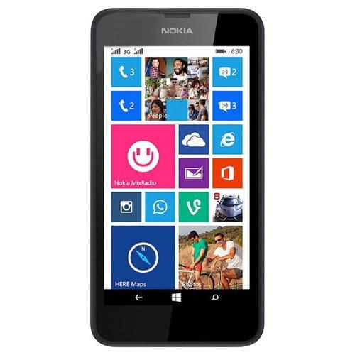 Refurbished Nokia RM-975 Lumia 635 8GB Black Prepaid Smartphone GoPhone AT&T