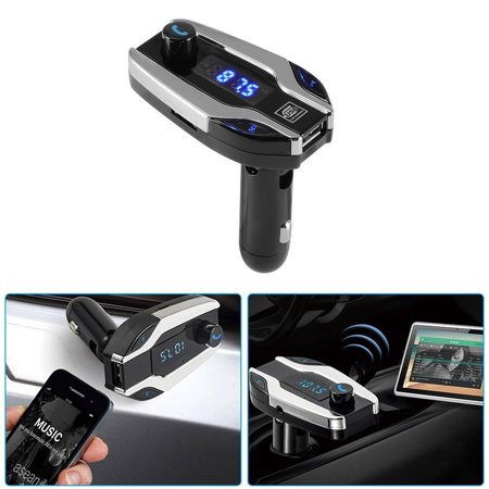 X7 Car Kit Bluetooth Handsfree USB Charger FM Transmitter Radio MP3