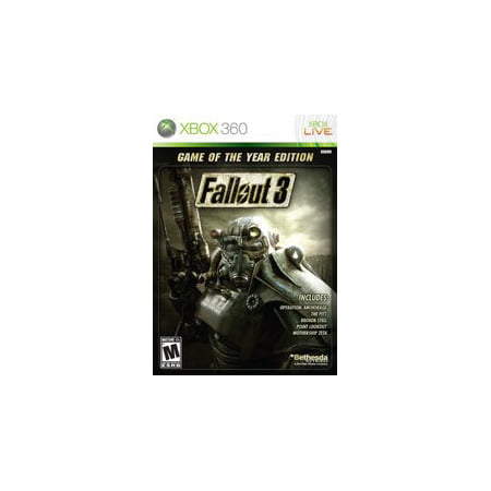 Fallout 3 Game Of The Year - Xbox360 (Refurbished) (Fallout 3 Xbox 360)