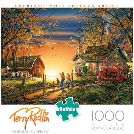 Buffalo Games - Terry Redlin - Morning Surprise - 1000 Piece Jigsaw Puzzle