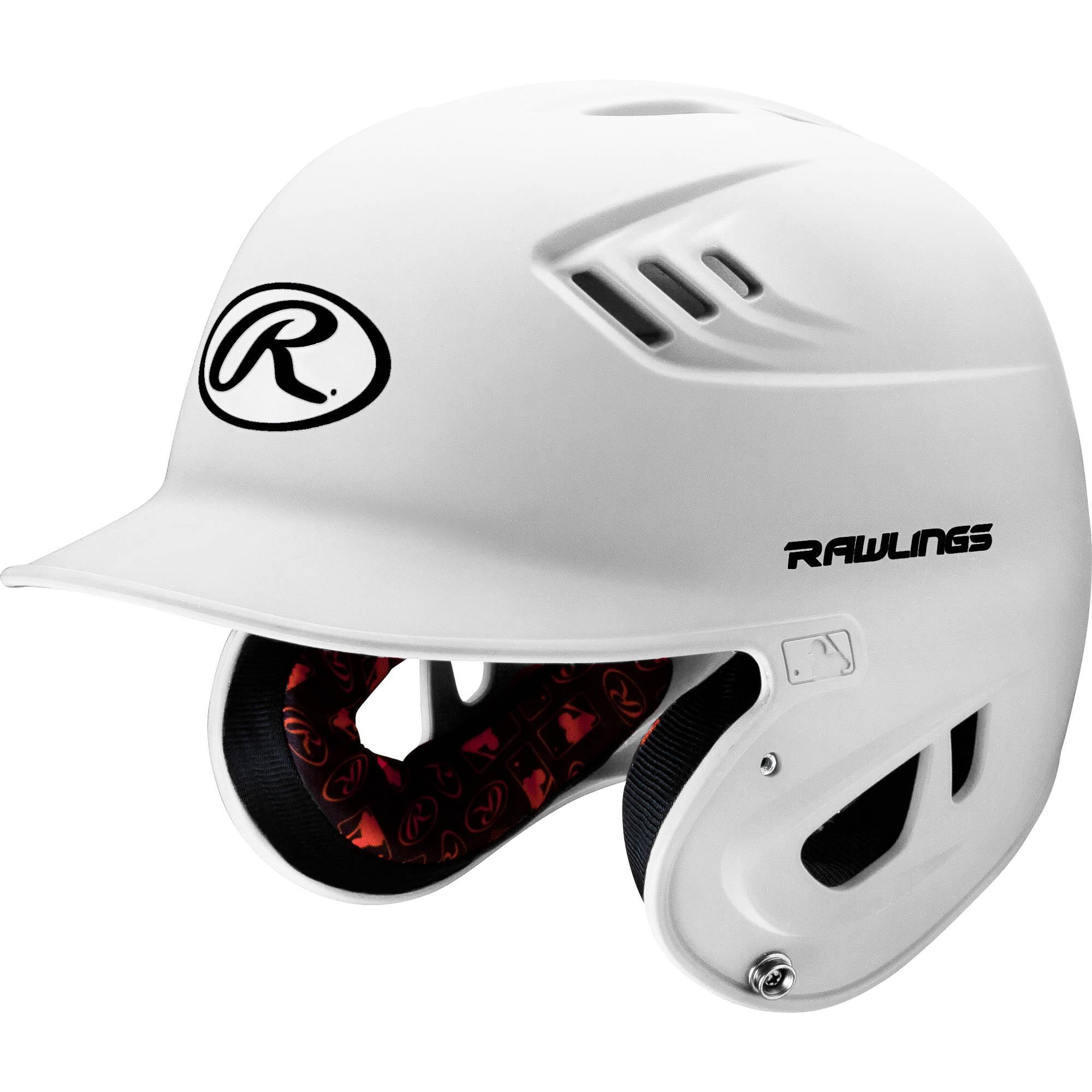 Rawlings Senior R16 Series Matte Helmet, Black
