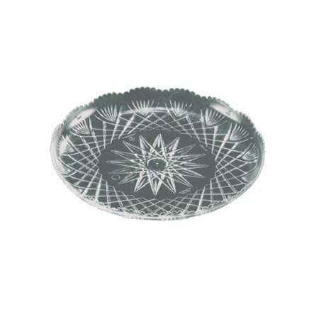 EMI Yoshi EMI-PT9C 9 in. Prisms Collection Clear Crystal Tray - Pack of 50