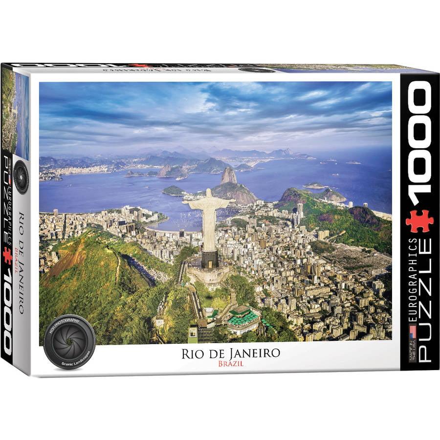 Rio de Janeiro 1000-Piece Puzzle by EuroGraphics