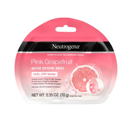 Neutrogena Pink Grapefruit Acne Prone Skin Peel Off Face Mask, 1 Ct by Neutrogena