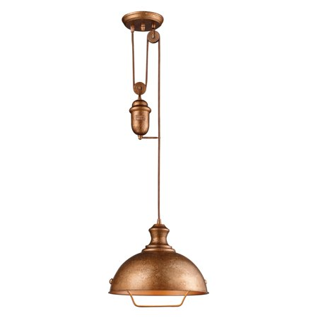 ELK Lighting Farmhouse 65061-1 Pendant - 14W in. - Bellwether Copper