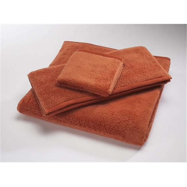 Home Source 10102SHE85 100 Percent Cotton Shower Towel - Paprika