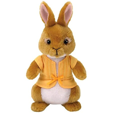 Collection Rabbit - Cp Ty Beanie Babies Peter Rabbit Collection , Mopsy Rabbit Licensed Plush Stuffed Animal Easter Toy Plush 8