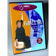 FitBALL 101 DVD for Plus Size & Under-Active Adults - Two 30-Minute Workouts