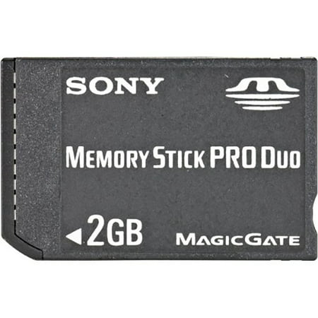 Refurbished Sony PSP 2 GB Memory Stick Pro Duo Memory Card (2 2gb Flash Memory Card)