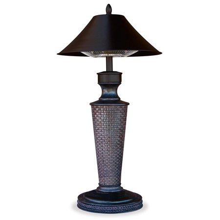 """Table lamp electric heater - 1200 watt, """"Vacation Day"""""""