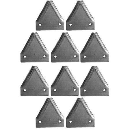 34390 10 Grain Head Cutter Bar Knife Sections For John Deere 140 160 580 590