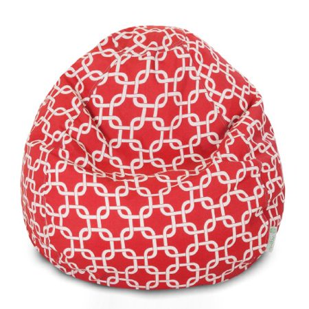 Majestic Home Goods Red Links Small Classic Bean Bag - image 1 de 1