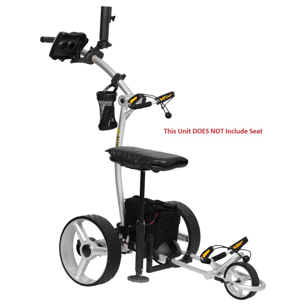 Bat Caddy X4 Pro Manual Electric Golf Bag Cart Silver w/ ...