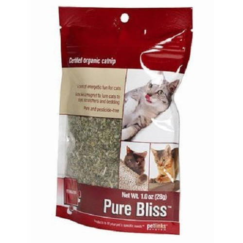 Petlinks Pure Bliss 1oz Organic Catnip by Petlinks