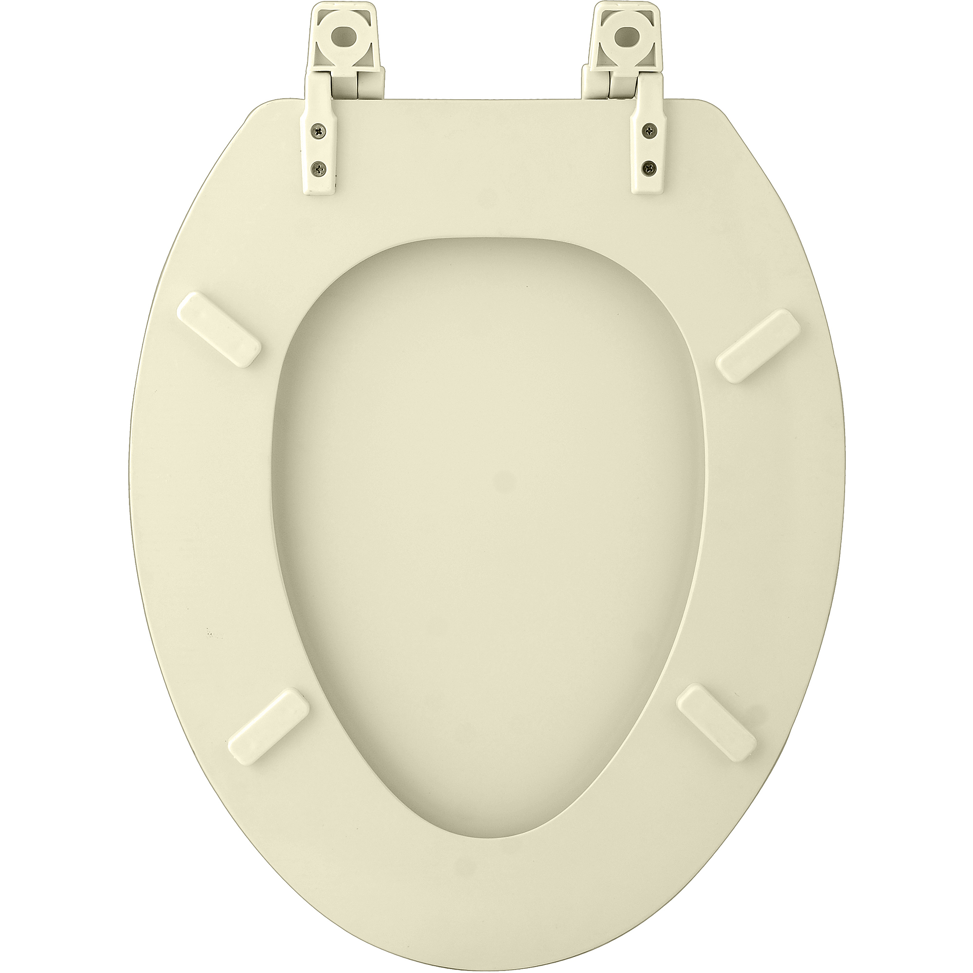 "Fantasia 19"" Elongated Wood Toilet Seat"