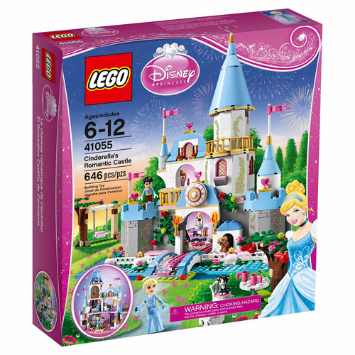 LEGO Disney Princess Cinderella's Romantic Castle Play Set 41055