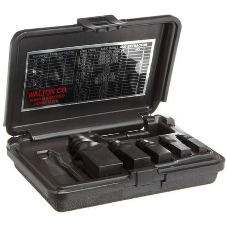 - Walton 50205 5 Piece Pipe (NPT) Stud & Screw Extractor Set