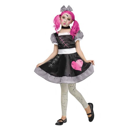 baeee0b2144 BROKEN DOLL ADULT HALLOWEEN COSTUME S - Walmart.com