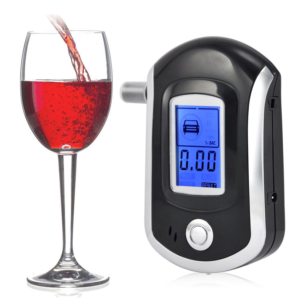 AT-6000 Digital Breath Alcohol Tester Quick responce,,