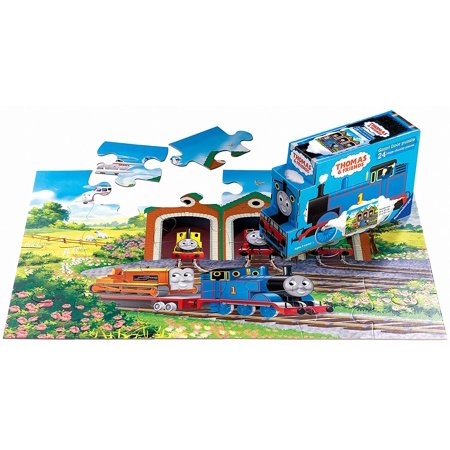 Thomas Amp Friends Off To Work 24 Piece Floor Puzzle In