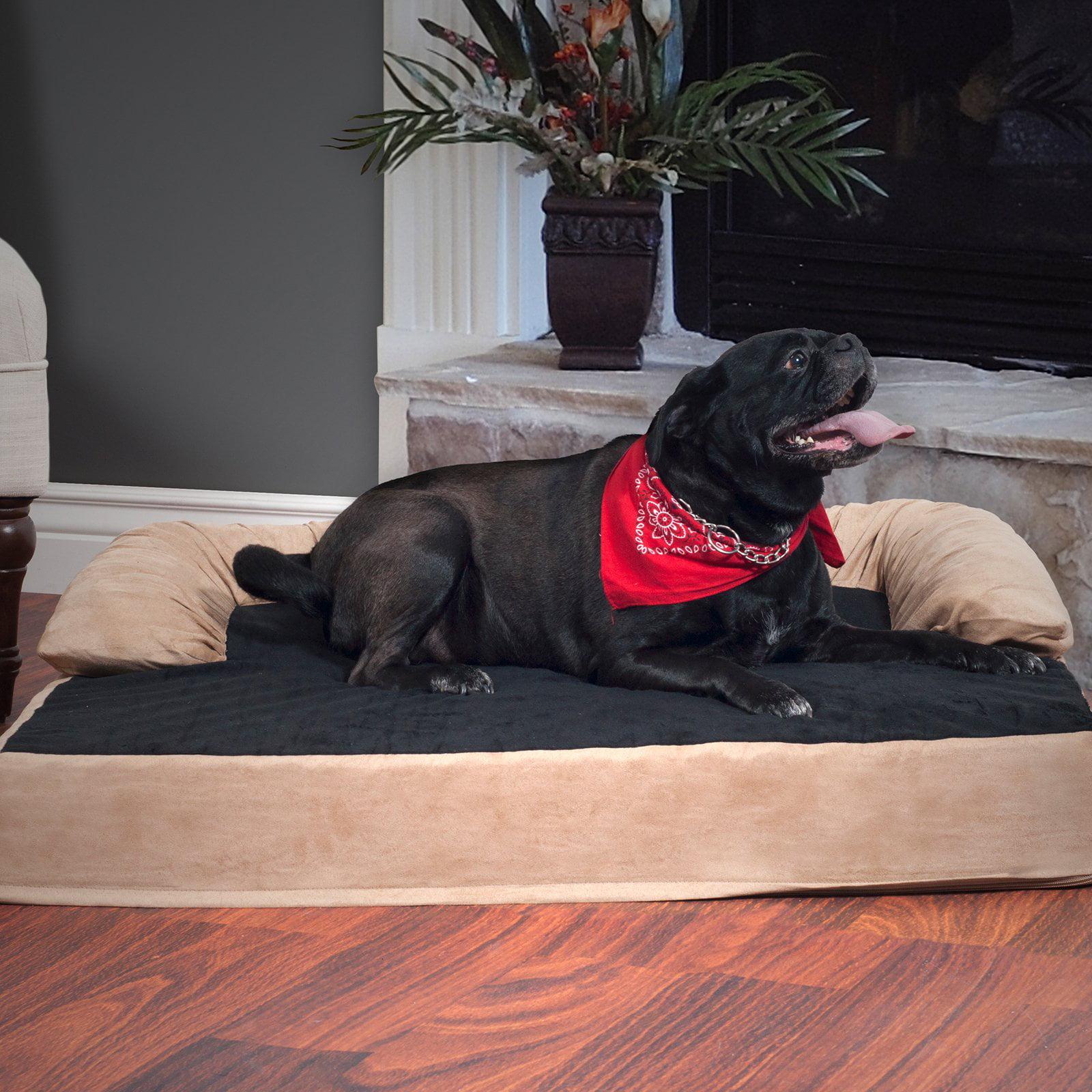 Petmaker Orthopedic Memory Foam Pet Bed - Tan