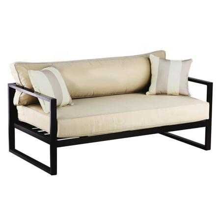 Serta Catalina Outdoor Sofa in Bronze Bronze Catalina Catalina Deck