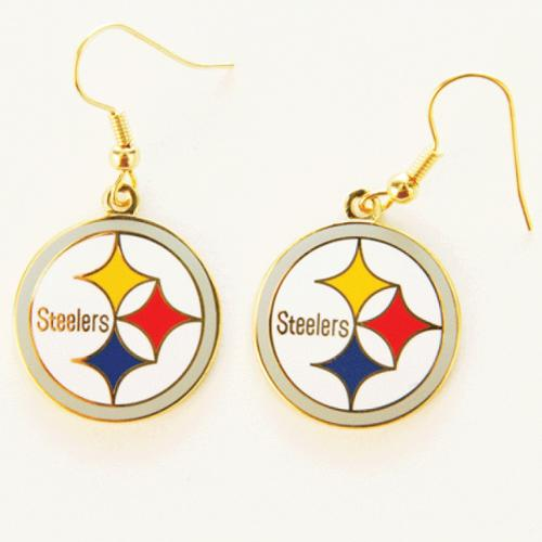 Pittsburgh Steelers Official NFL .5 inch  Earrings by Wincraft