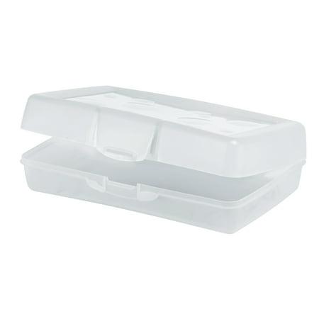 Storex 12pk Pencil Box - Clear