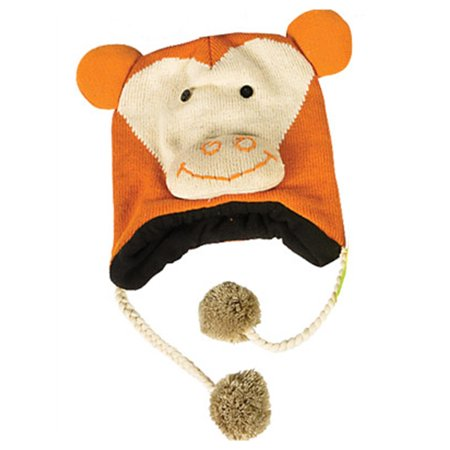 Monkey Hat Knit Winter Cap Toque Costume Beanie Hat (Monkey Hats)