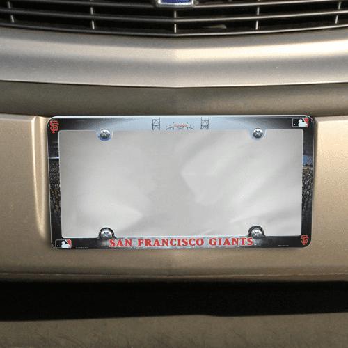 San Francisco Giants Field Plastic License Plate Frame - No Size