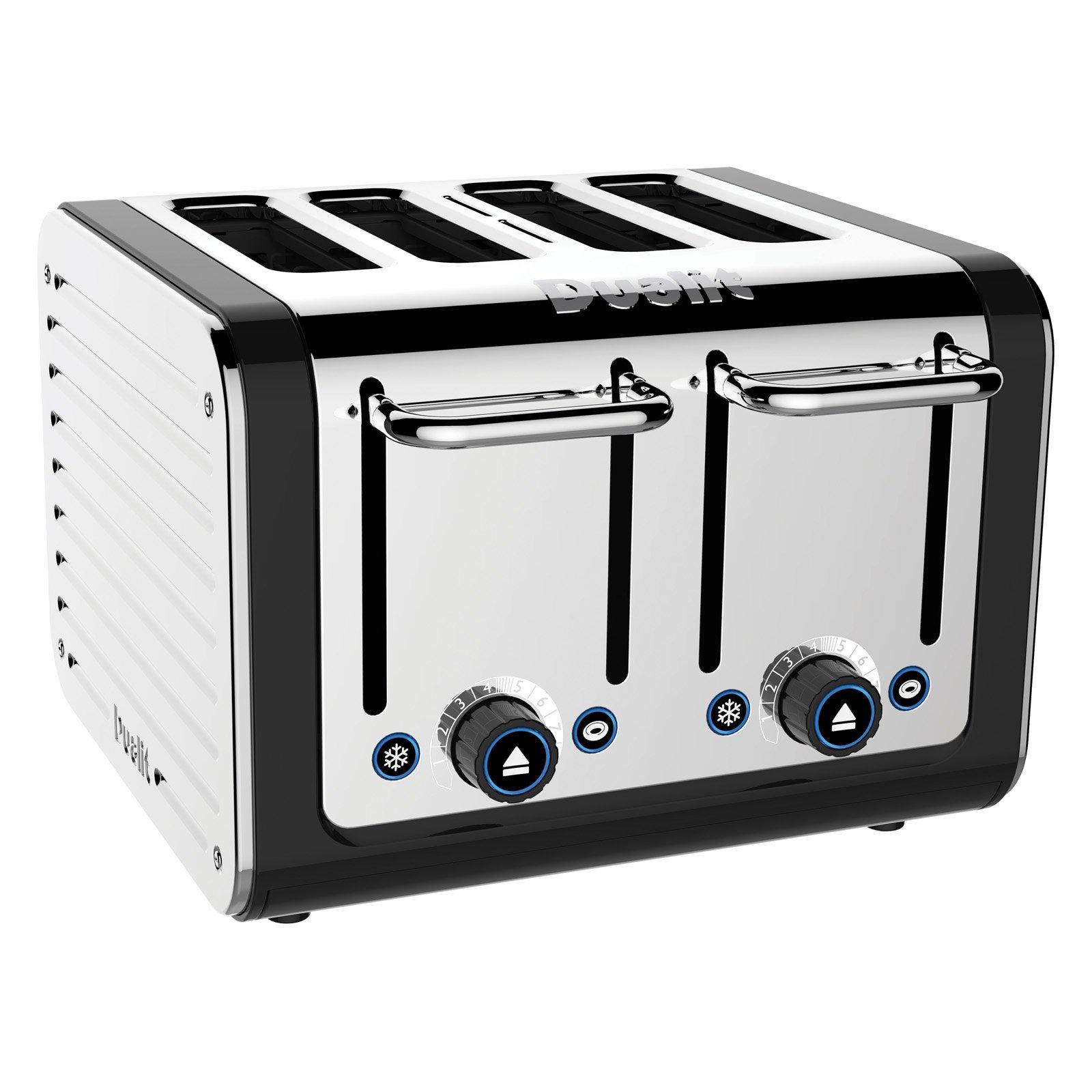 Dualit 46555 Design Series 4 Slice Toaster - Black