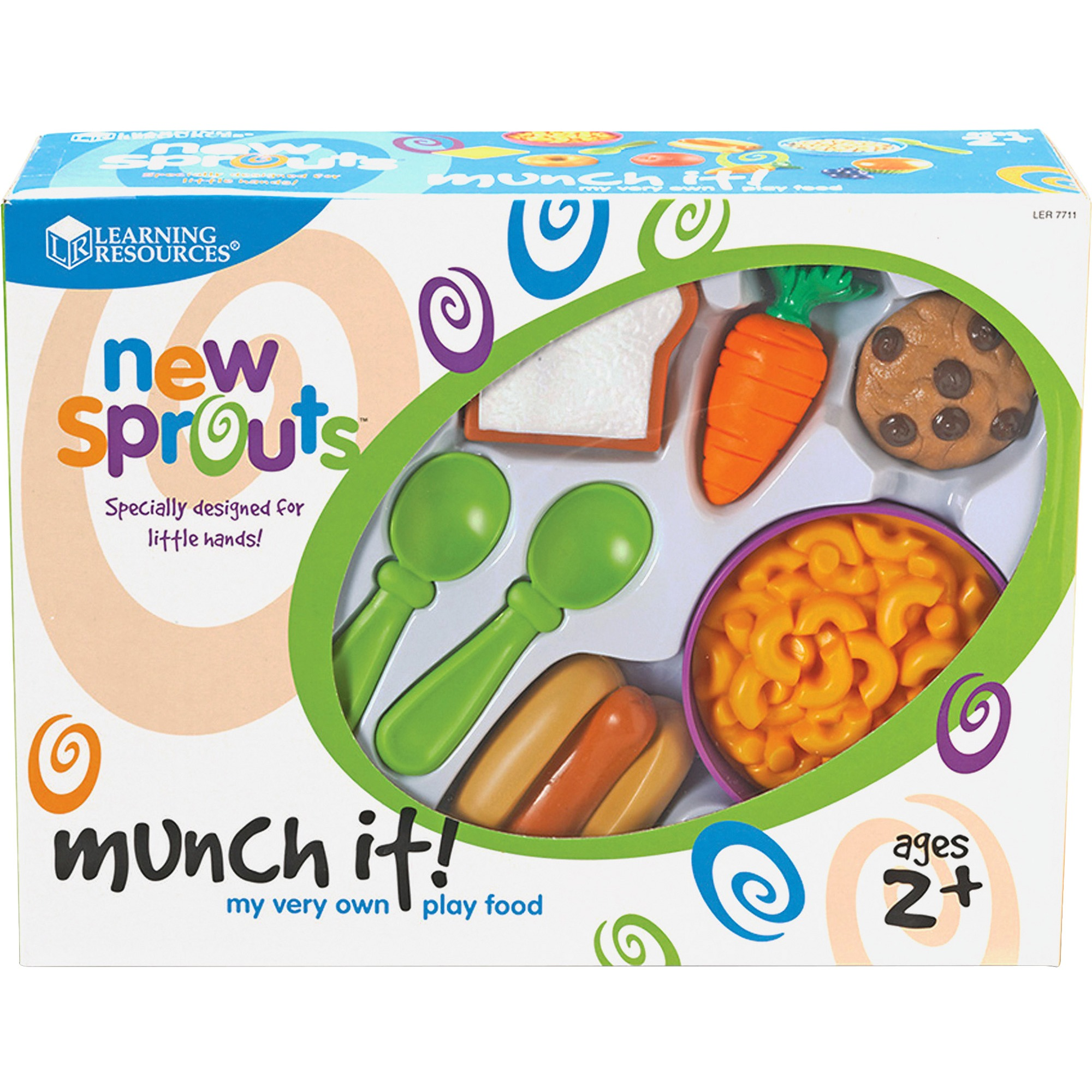 New Sprouts, LRNLER7711, Munch It! Play Food Set, 1 / Set