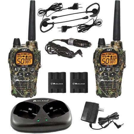 Midland Gxt1050vp4 X Tra Talk Gmrs 2 Way Radio With 30 Mile Range