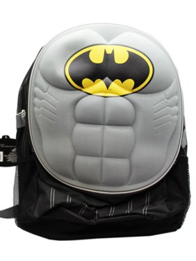 ff9d8a086a20 Product Image DC Comics Batman Six Pack Armor Plate Cover Kids Full Size  Backpack (16in)