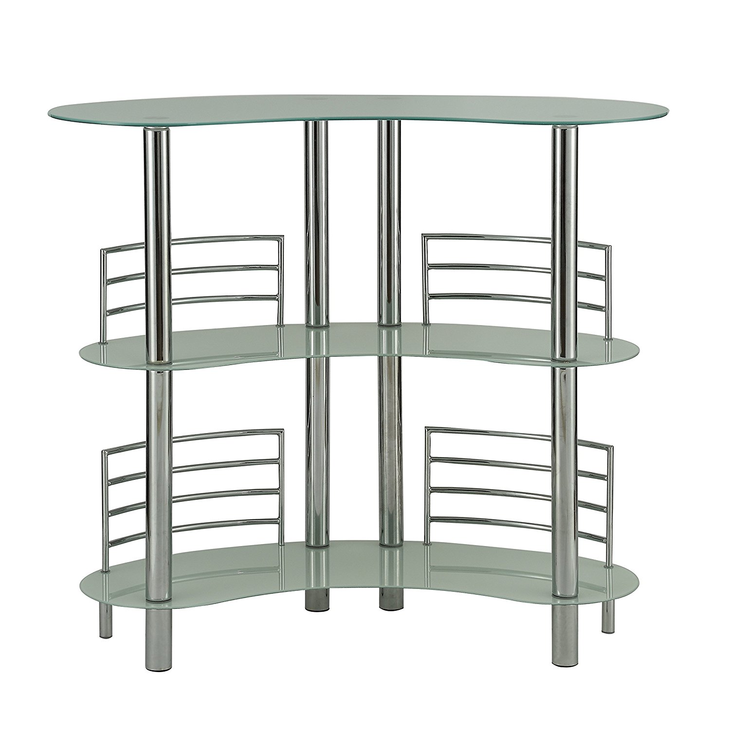 Alton Furniture Paolo Glass Pub Table, Pub Table, Multiple Colors by Fully Wind Co, Ltd.