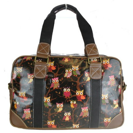 Miss Lulu Ladies Print Oilcloth Hand Shoulder Travel Overnight Weekend