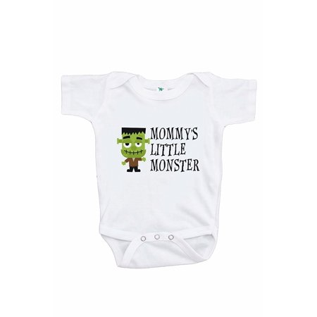 7 ate 9 Apparel Boy's Mommy's Monster Halloween Onepiece - 3-6 Month Onepiece